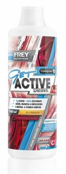Frey Nutrition Get Active Drink Ultra Strong - 1000 ml Flasche