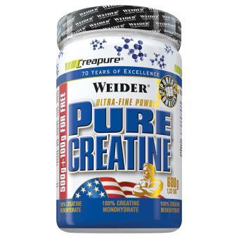 WEIDER Pure Creatine, Pulver - 600 g