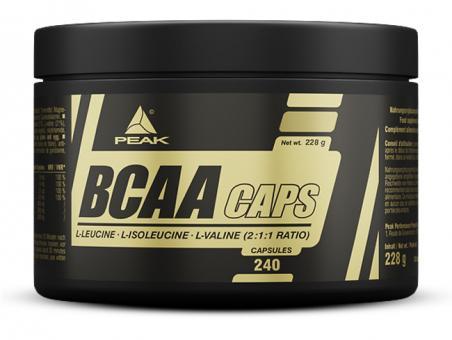 Peak - BCAA Caps - 240 Kapseln