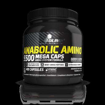 Olimp Anabolic Amino 5500 Mega Caps - 400 Kapseln