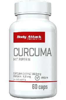 Body Attack Curcuma - 60 Caps