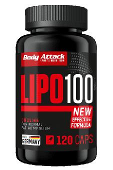 Body Attack LIPO 100 - 120 Caps