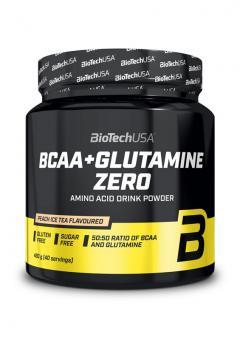 BioTech USA BCAA + Glutamine ZERO - 480 g