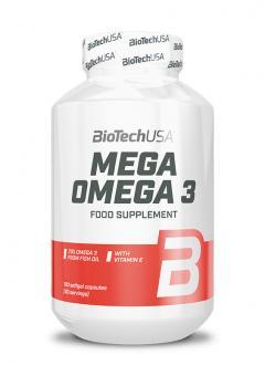 BioTech USA Mega Omega 3 - 180 Kapseln