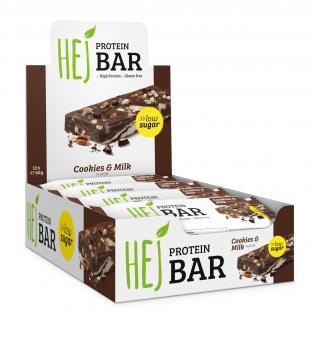 Hejbar Proteinriegel - Hej Protein Bar 12 x 60 g
