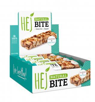 Hejbite Riegel - Hej Natural Bite 12 x 40 g