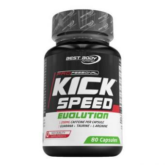 Kick Speed - Evolution Caps - 80 Stück / Dose