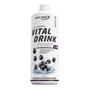 Best Body Nutrition Vital Drink - 1000ml Schwarze Johannisbeere