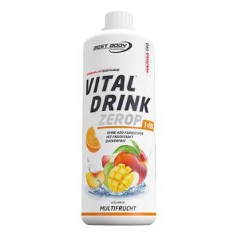 Best Body Nutrition Vital Drink - 1000ml Multifrucht