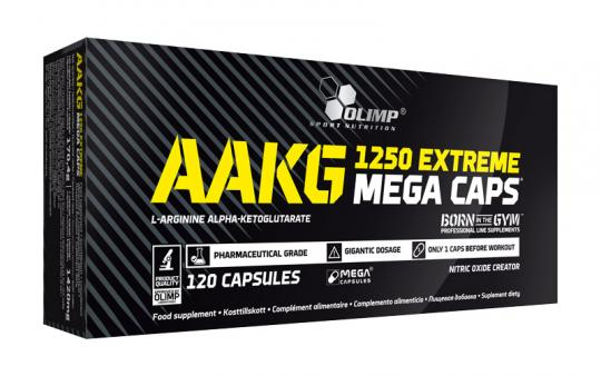 Olimp AAKG 1250 Extreme Mega Caps - 120 Kapseln