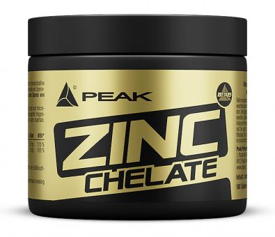 Peak - Zinc Chelate / Zink Chelat - 180 Tabletten