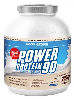 Body Attack Power Protein 90 - 2kg Dose Chocolate Cream