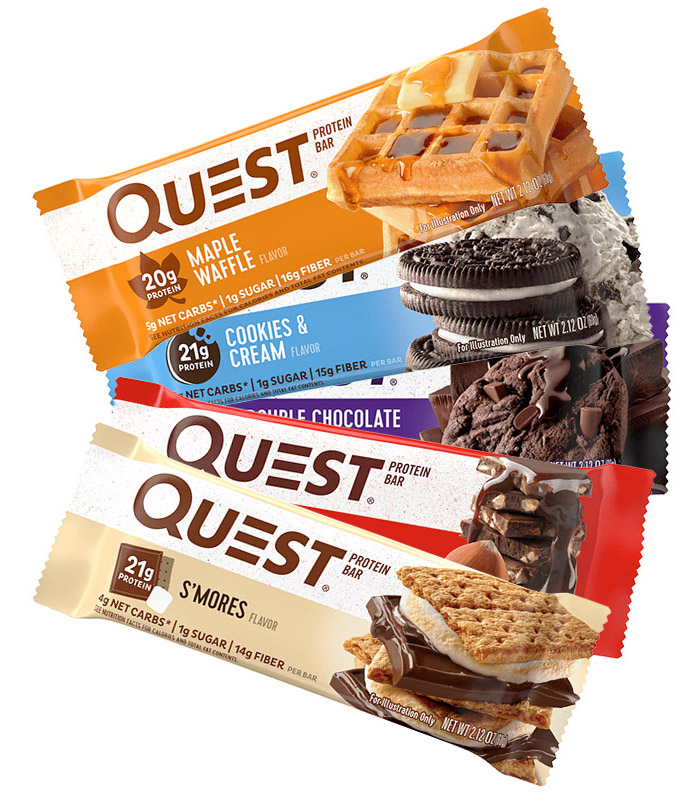 Quest Nutrition - Quest Protein Bar / Eiweiß Riegel - 12 x 60 g / 720 g