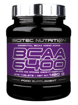 Scitec Nutrition BCAA 6400 Essentielle Aminosäuren 480g - 375 Tab.
