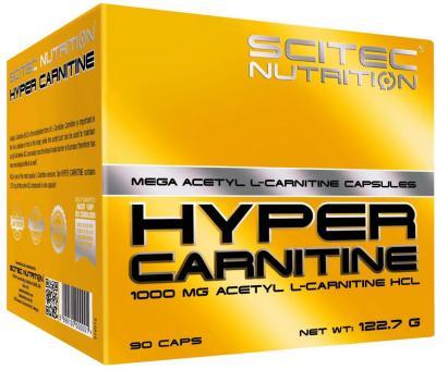 Scitec Nutrition Hyper Carnitine Mega Acetyl L–Carnitin - 90 Kapseln