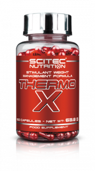 Scitec Thermo X Körperfettkontroll Komplex - 100 Kapseln
